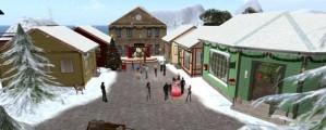 Skomakergata er ett av mange steder man kan besøke i Second Life